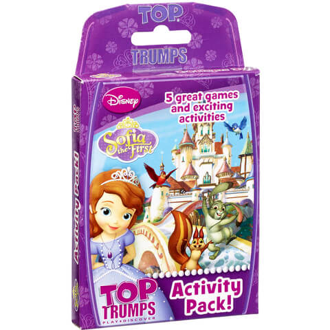 Top Trumps Activity Pack - Sofia the First