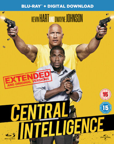 Central Intelligence (Includes UV Copy)