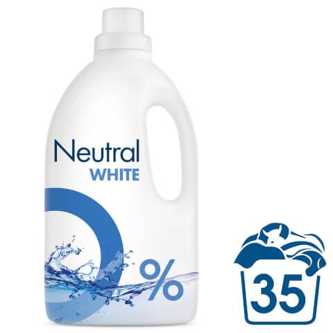 Neutral 0% White Liquid Laundry Detergent - 2625ml