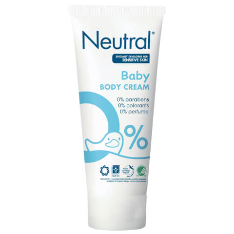 Neutral 0% Baby Body Cream 100ml