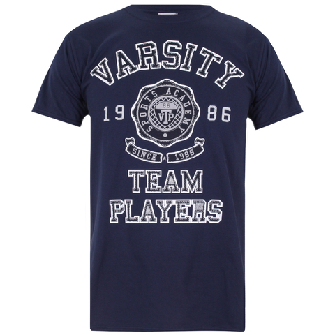 Varsity Team Players Men's Needle & Thread T-Shirt - Navy
