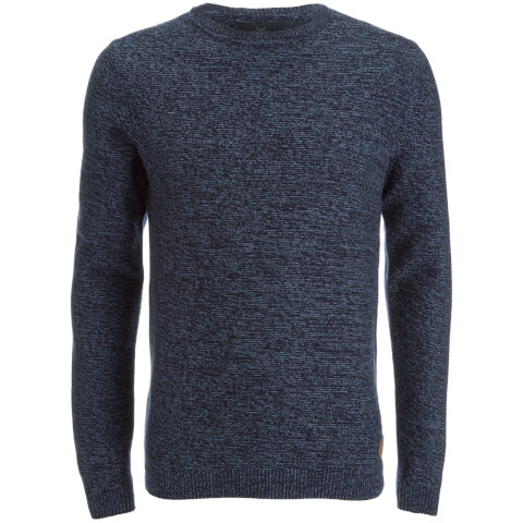 Pull Threadbare pour Homme well -Marine/Denim