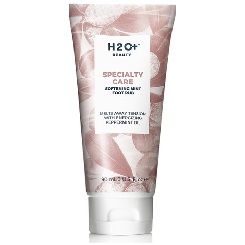 H2O+ Beauty Specialty Care Softening Mint Foot Rub 3 Oz