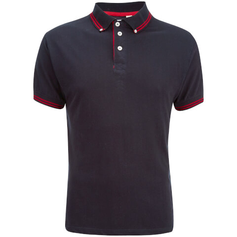 Soul Star Men's Ralling Polo Shirt - Navy