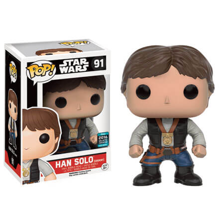 Star Wars Han Solo (Ceremony) Funko Pop! Figuur