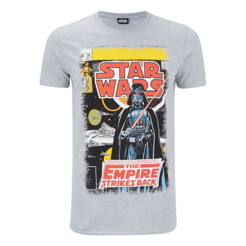 Star Wars Empire Strikes Back Heren T-Shirt - Grijs