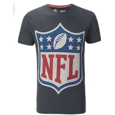 T-Shirt Homme NFL Logo Homme -Gris