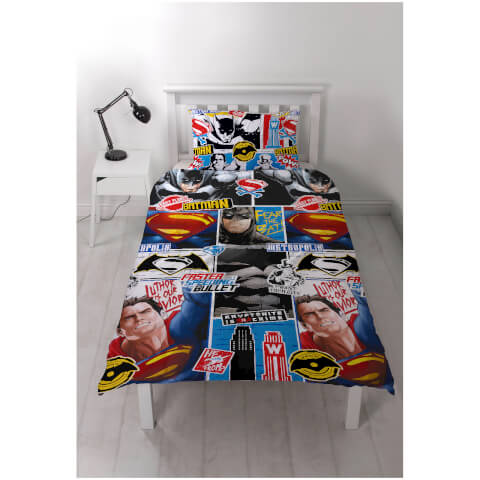 Batman v Superman Clash Rotary Duvet Set