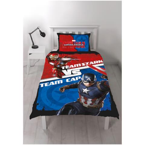 Parure de lit Captain America: Civil War