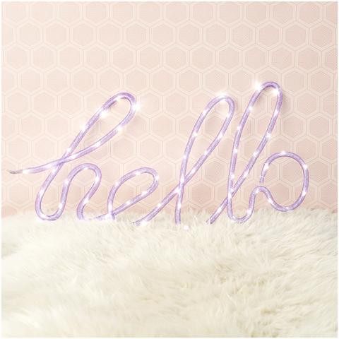 Néon Hello -Violet