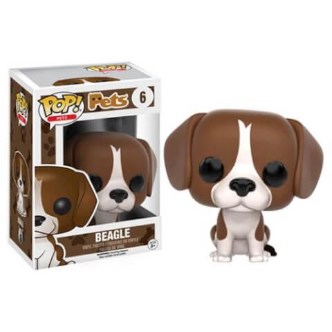 Figura Pop! Pets Vinyl Perro Beagle