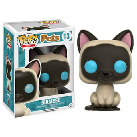 Pop! Pets Siamese Pop! Vinyl Figure