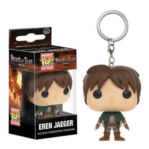 Attack on Titan Eren Jaeger Pocket Pop! Keychain