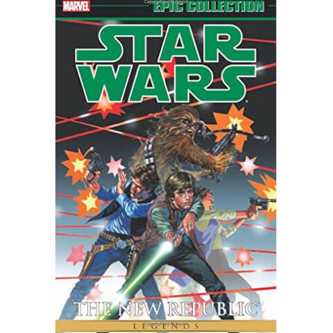 Star Wars Legends Epic Collection: The New Republic Volume 1 Paperback Graphic Novel