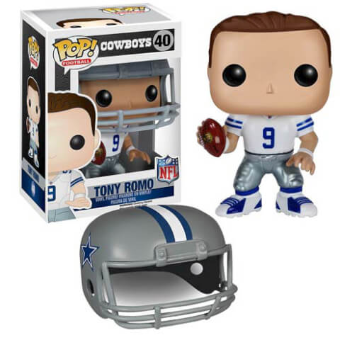 NFL Tony Romo Wave 2 Pop! Vinyl Figure