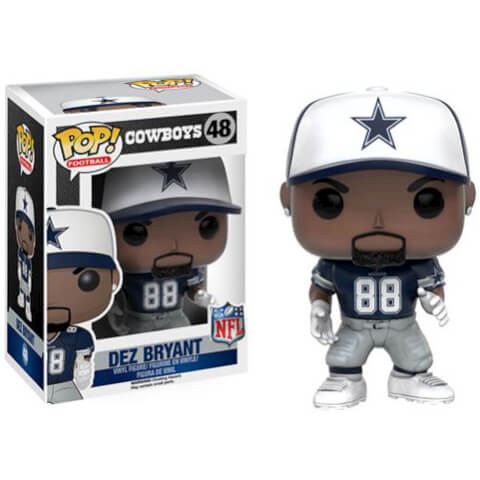 Figurine NFL Dez Bryant 3ème Vague Funko Pop!