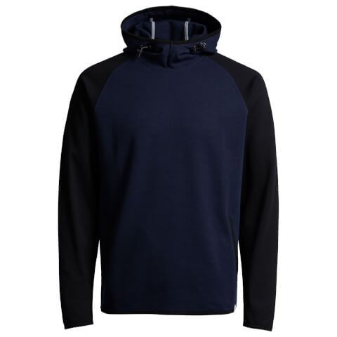 Jack & Jones Men's Core Jason Raglan Hoody - Sky Captain