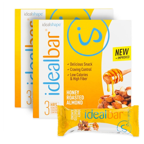IdealBar 2 Boxes Honey Roasted Almond