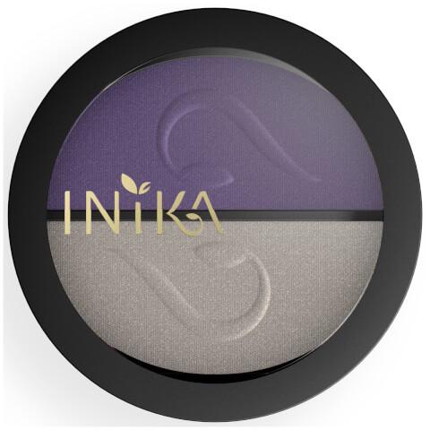 INIKA Pressed Mineral Eyeshadow Duo - Purple Platinum