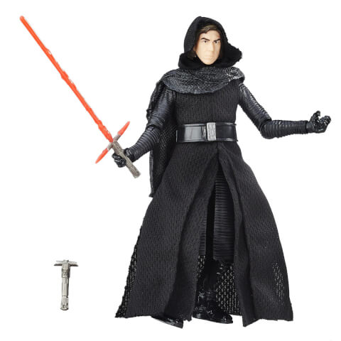 Star Wars The Black Series Kylo Ren Unmasked 6-Inch Figure