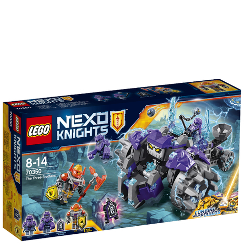LEGO Nexo Knights: Les Trois Frères (70350)