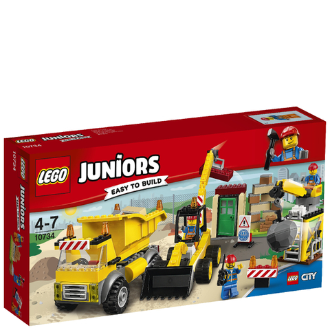 LEGO Juniors: Demolition Site (10734)