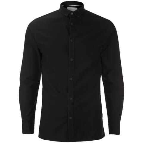Jack & Jones Men's Core Wheel Long Sleeve Shirt - Black