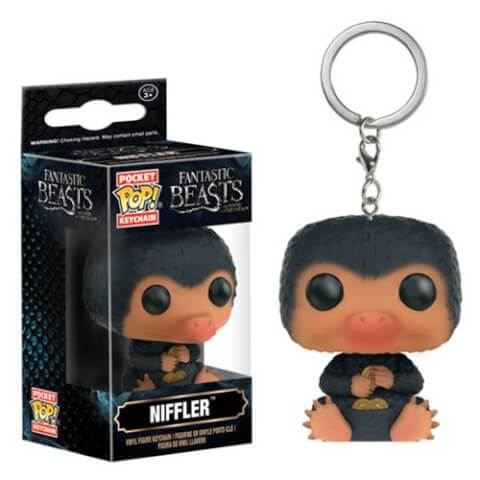 Fantastic Beasts and Where to Find Them Niffler Pocket Pop! Sleutelhanger