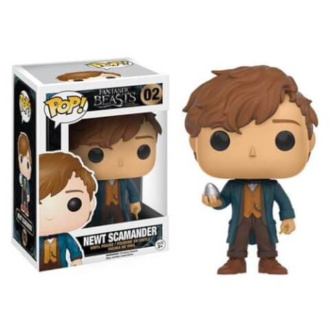 Fantastic Beasts and Where to Find Them Newt Scamander met Ei Funko Pop! Figuur