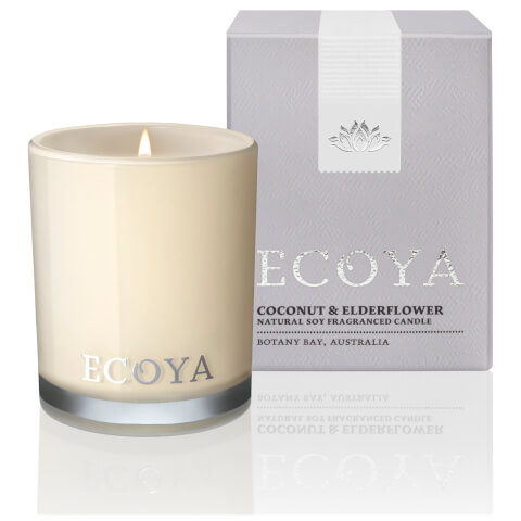 ECOYA Coconut and Elderflower Candle - Mini Madison