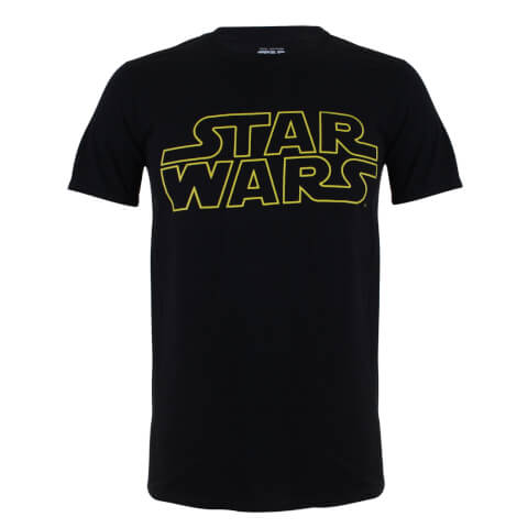 Star Wars Boys' Logo Heren T-Shirt - Zwart