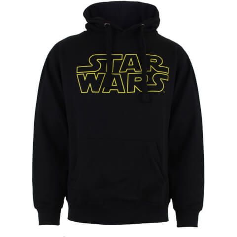 Star Wars Boys' Logo Hoody - Black