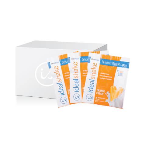 IdealShake Orange Cream 20 Count On-The-Go Pack
