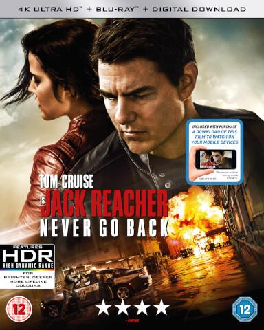 Jack Reacher: Never Go Back - 4K Ultra HD (Includes Digital Download)