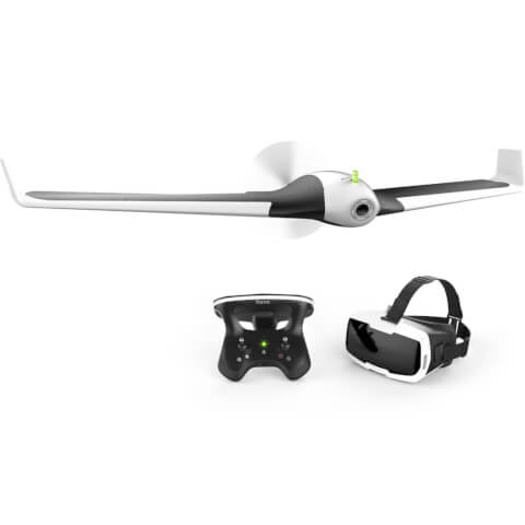 Parrot Disco Drone with Skycontroller 2 and Cockpit FPV Glasses