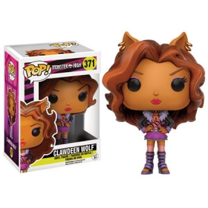 Figurine Clawdeen Wolf Monster High Funko Pop!