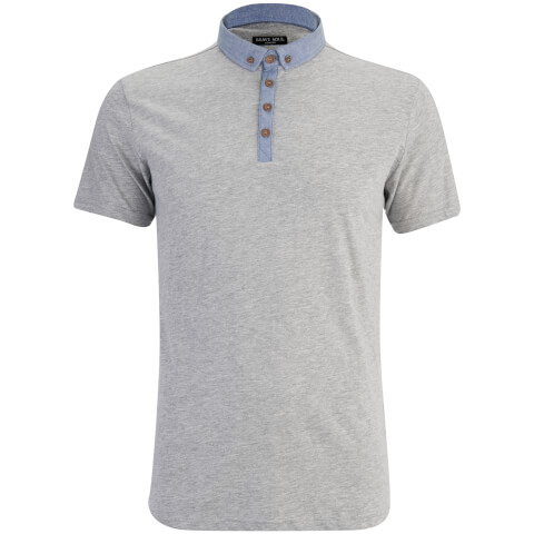 Polo Homme Chimera Chambray Brave Soul - Gris