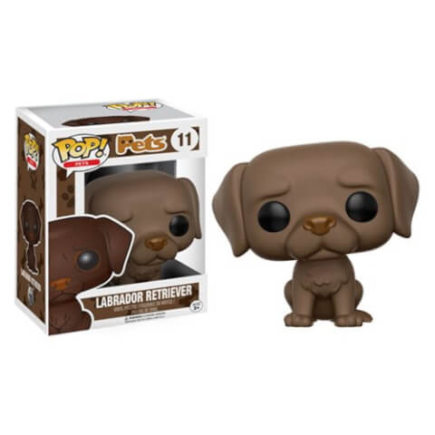 Figurine Pop! Labrador Chocolat Retriever