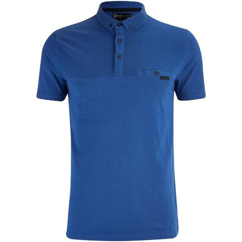 Dissident Men's Dunloe Polo Shirt - Monaco Blue
