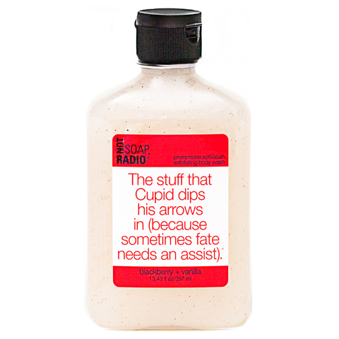 Not Soap Radio The stuff that Cupid dips his arrows in (because sometimes fate needs an assist) Exfoliating Body Wash 397ml