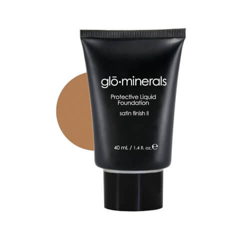 glominerals gloProtective Liquid Foundation Satin II - Beige-Medium