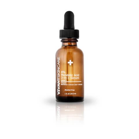 Vivant Skin Care 8% Mandelic Acid 3-in-1 Serum