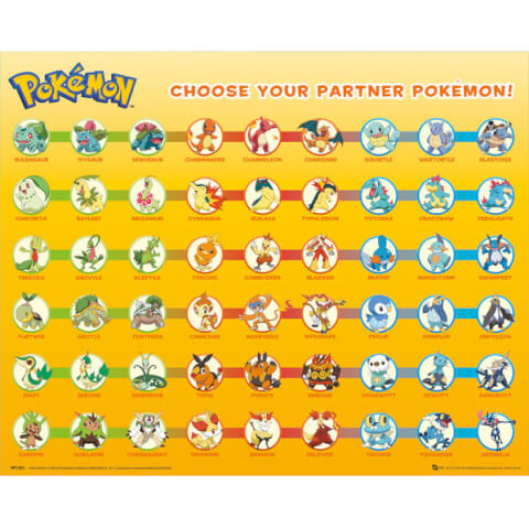 Pokemon Partner Pokemon Mini Poster - 40 x 50cm