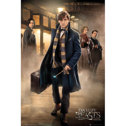 Fantastic Beasts Group Stand Maxi Poster - 61 x 91.5cm
