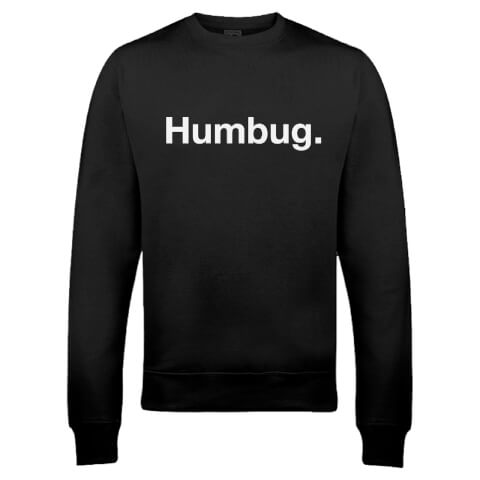 Humbug Christmas Sweatshirt - Black