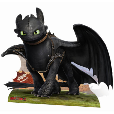 How to Train Your Dragon Toothless Stand In Cut Out