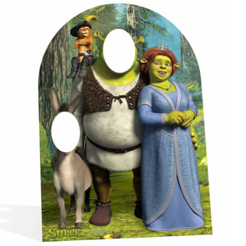 Shrek Stand In Cut Out - Child Size