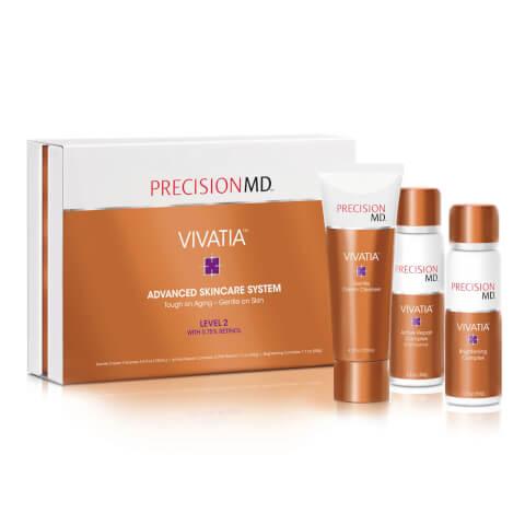 PrecisionMD VIVATIA Level 2 Advanced Skincare System - 0.75% Retinol