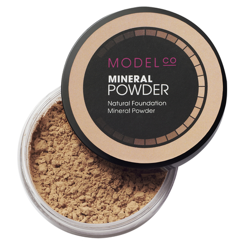 ModelCo Mineral Powder - Medium Beige 02