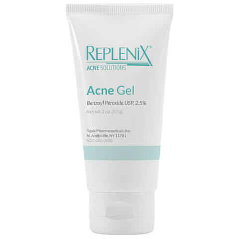 Replenix Acne Solutions Benzoyl Peroxide 2.5% Acne Gel